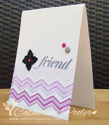 Blog KISS Card with Chevron
