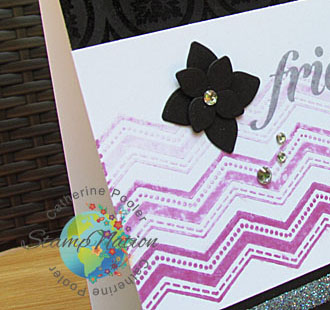 KISS Card Chevron Stepped uppeek