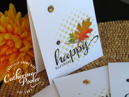 Fall KISS Birthday Card 2