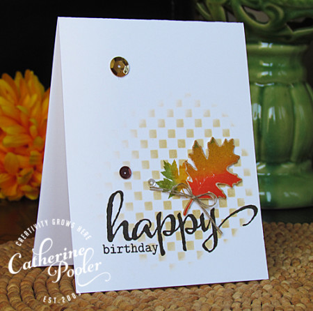 Fall KISS Birthday Card