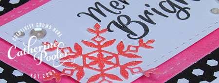 Catherine Pooler neon snowflakes