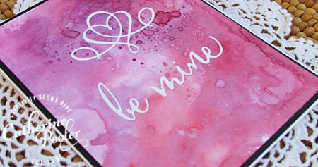 Penny Black Be Mine Valentine's Day Card