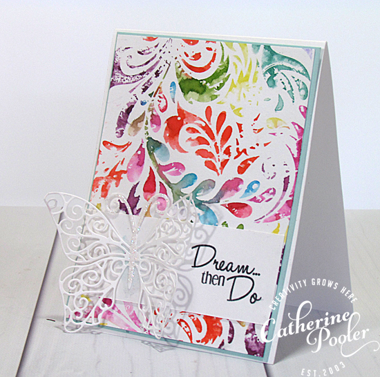 Watercoloring with Distress Markers – special guest artist ...