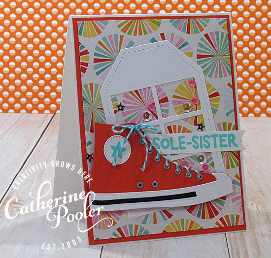 hand made cards with patterned paper