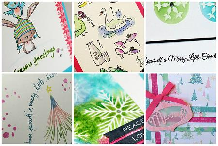 Christmas in July Collage StampNation