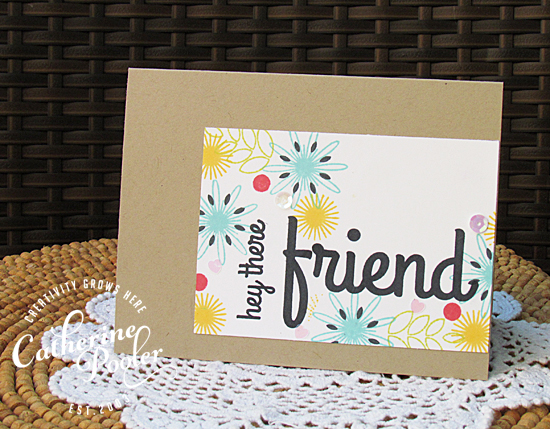 Friend KISS Card