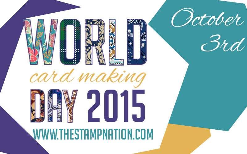 World Card Making Day StampNation