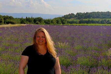 Ingrid Blackburn - Provence-lavender-fields 2015