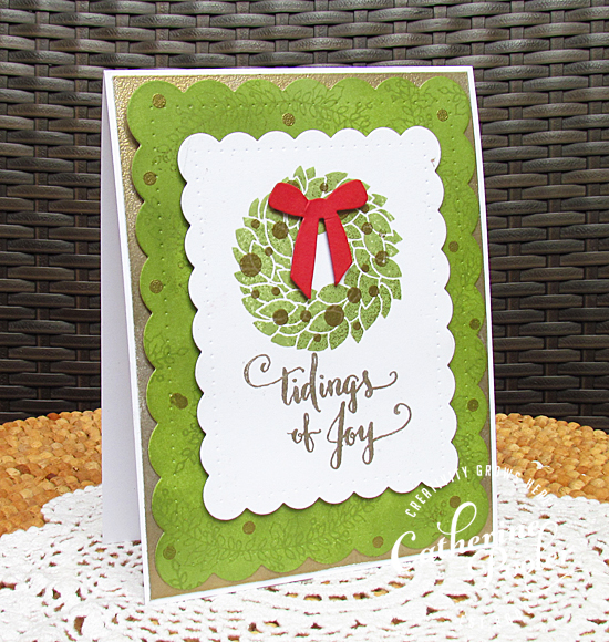 Ready Set Stamp with LLC: Holiday Card with Winnie & Walter  Catherine Pooler