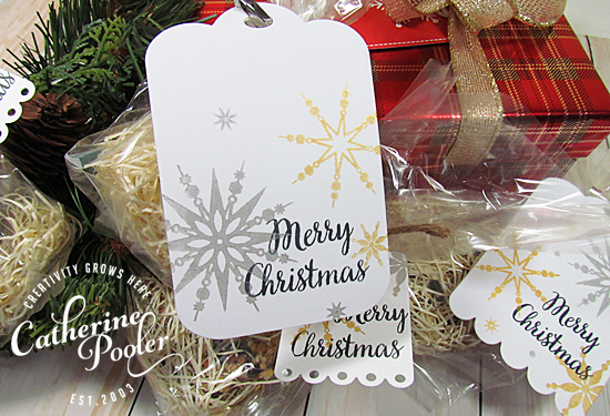 Quick Holiday Tags for Gifts 2
