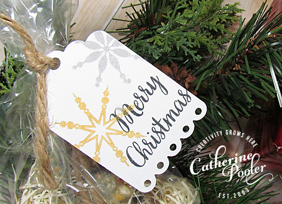 Quick Holiday Tags for Gifts