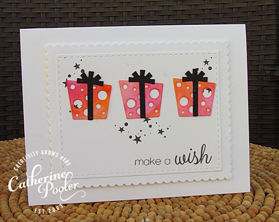 Stamp of Approval Watercolored Die Cuts