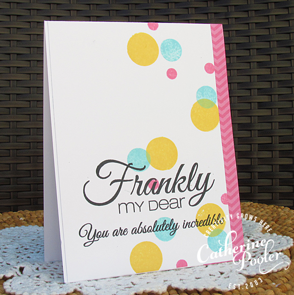 Frankly My Dear Confetti KISS Cards 3