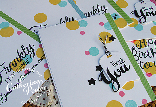 Frankly My Dear Confetti KISS Cards
