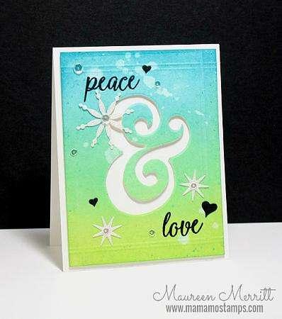 Peace love and joy Maureen Merritt