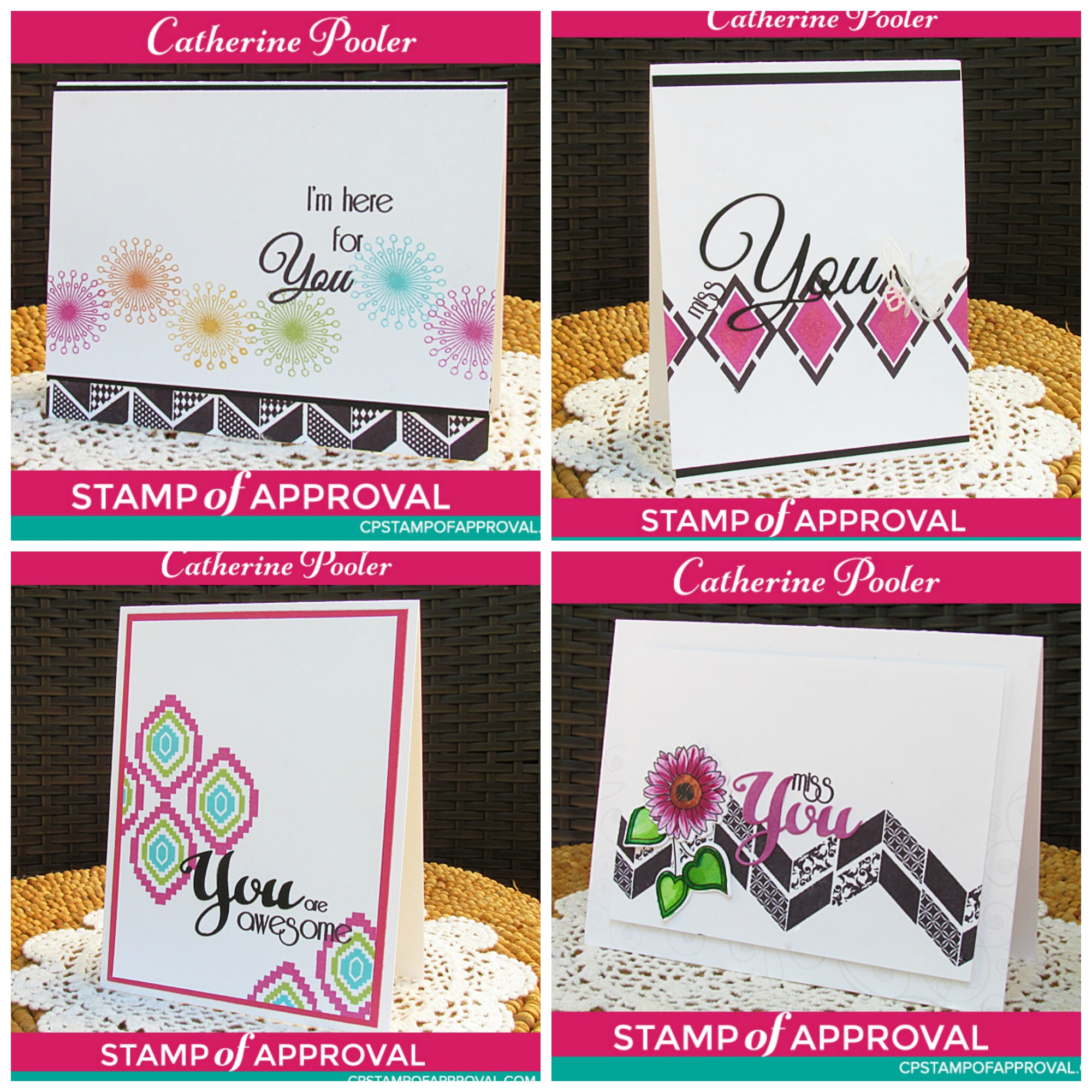 Catherine Pooler Designs Stamp of Approval