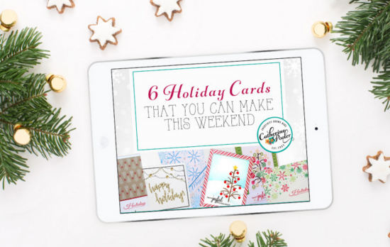 6 cards to make this weekend