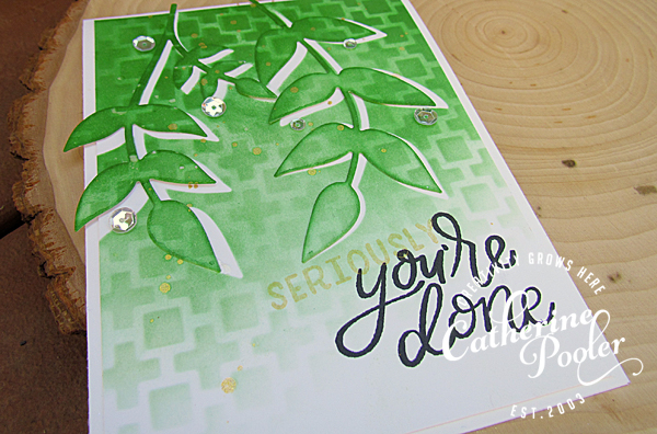 Using Dies as Stencils Catherine Pooler