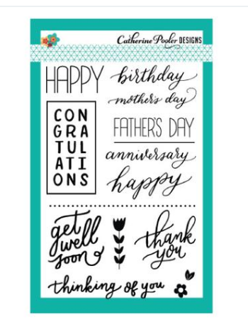 Simply Stated Stamp Set