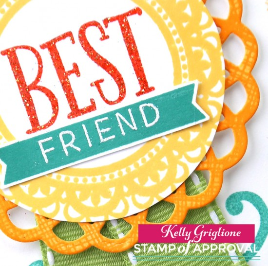 Best Friend Award Card detail