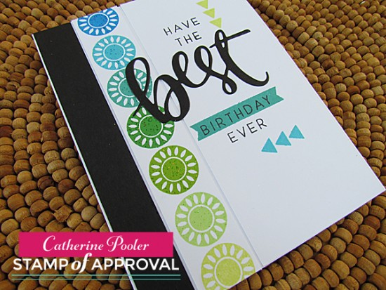 Masculine Card with Stamp of Approval 2