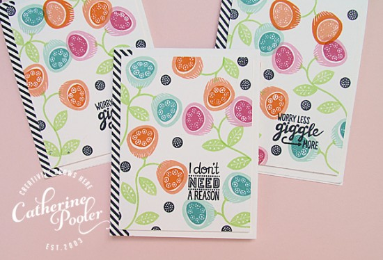 Floral Background KISS Cards_2
