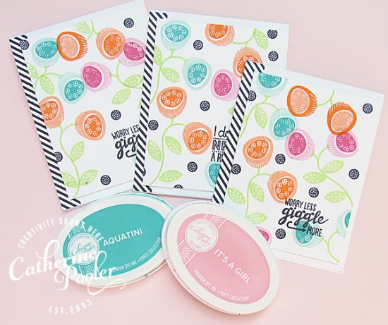 Floral Background KISS Cards_3