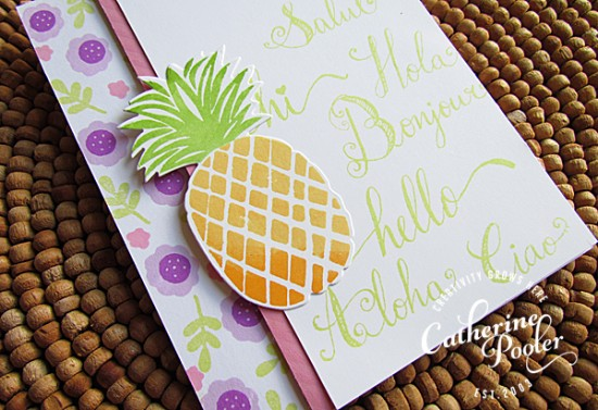 Background Stamping with Words 2