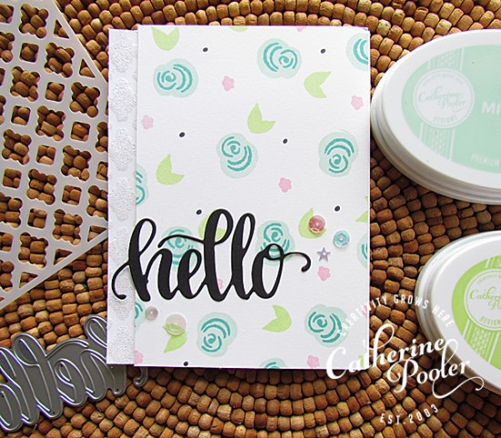 Multi-Step Stamping and Angled Card Front 4