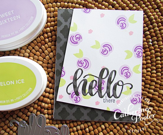 Multi-Step Stamping and Angled Card Front
