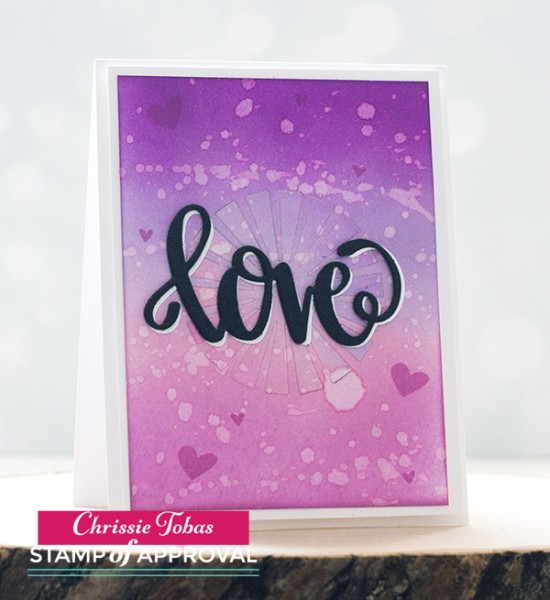 Chrissie Tobas Love is in the Air Card