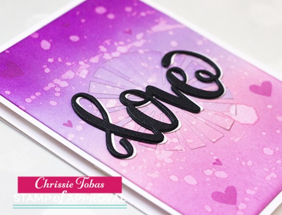 Chrissie Tobas Love is in the Air DETAIL