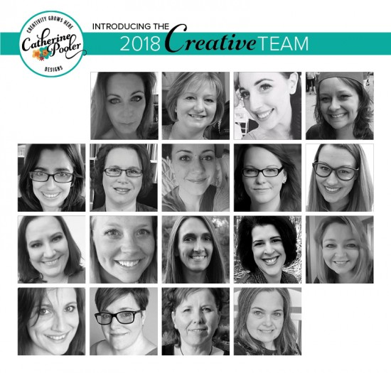 2018 Catherine Pooler Designs Creative Team