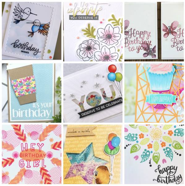 Birthday cards for the year done catherine pooler designs bcsd class collage solutioingenieria Images