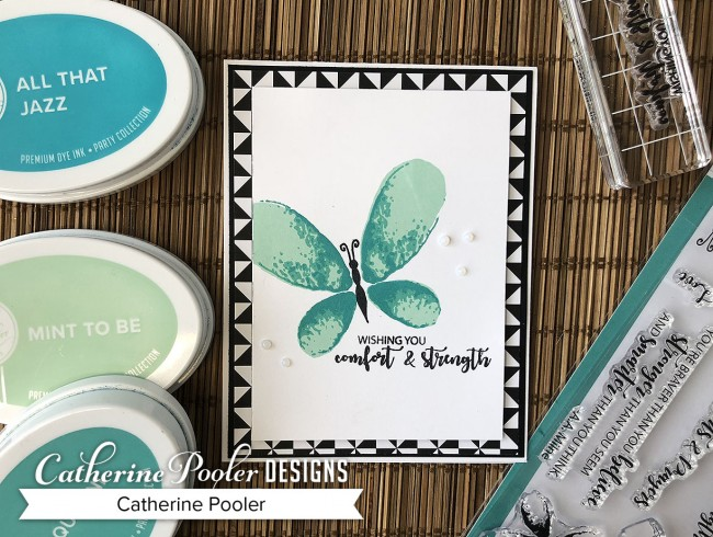 Choosing Colors - MultiStep Stamping with Faithful Flutterings