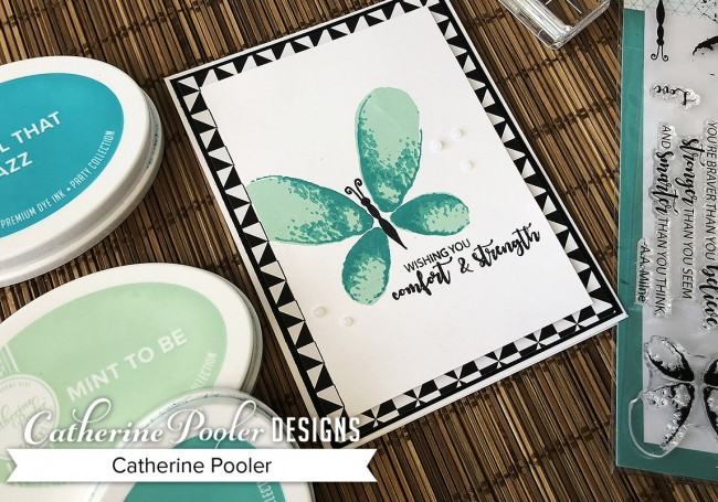 Choosing Colors - MultiStep Stamping with Faithful Flutterings3
