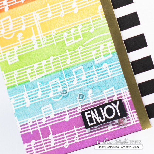 Music Notes Background Jenny Colacicco B