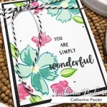 wonderful wildflowers card 2