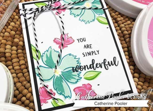 wonderful wildflowers card 2