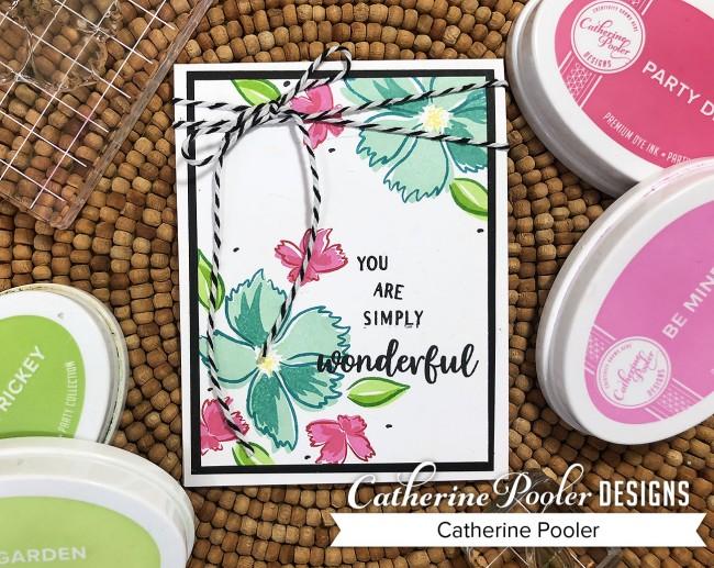 wonderful wildflowers card
