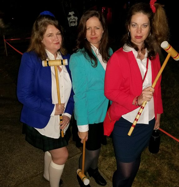 Catherine Pooler and friends halloween 2018